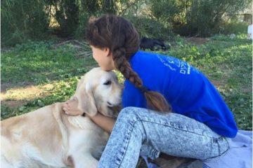 קייטנת ילד וכלבו בקיבוץ אפיקים